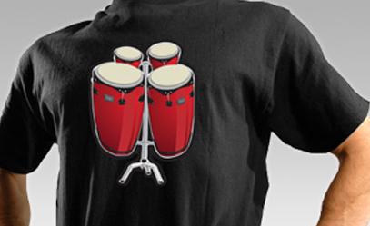 interactive bongo tee