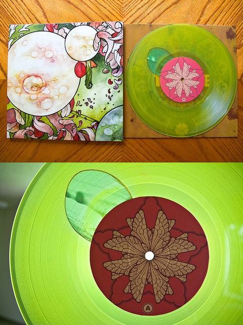 beautiful vinyl records