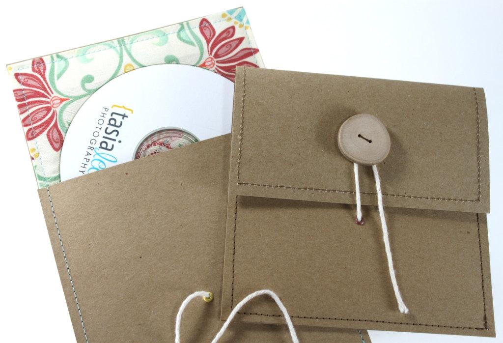 CD case wallet