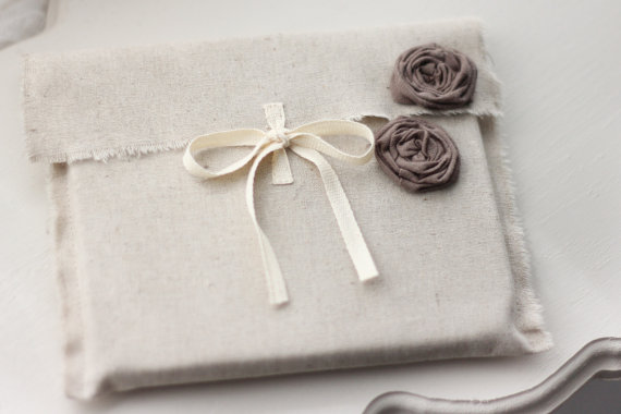 Fabric CD Sleeves wedding