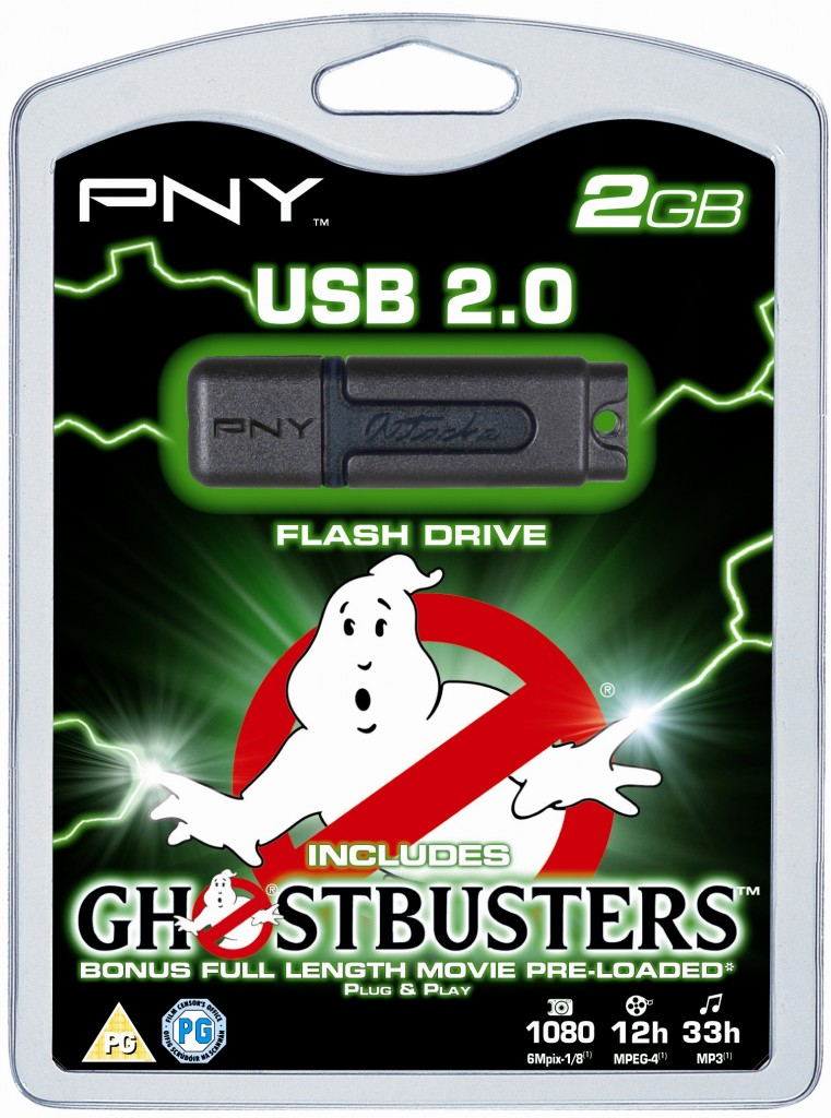ghostbusters flash drive