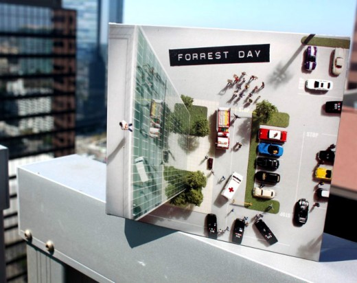CD packaging, CD Packaging: Forrest Day