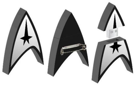 star trek flash drive