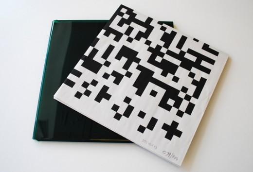 vinyl packaging with QR code