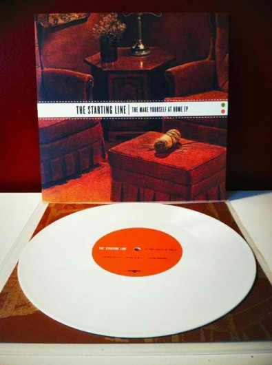 white vinyl, White Vinyl Records. Gotta love them!