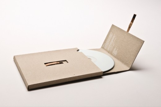CD package, 4 Cardboard Cases for Your DIY CD Package