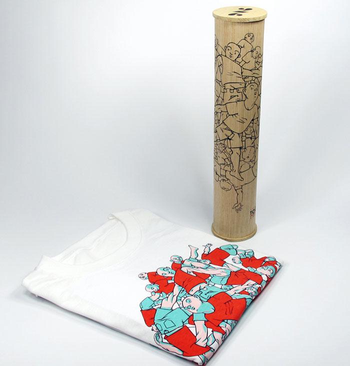T-shirt Packaging: Society 27