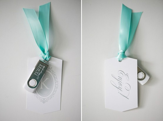 USB Flash Drive Packaging bookmark