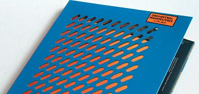 CD packaging design cardboard