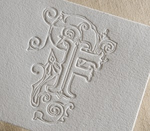 emboss cardboard printing