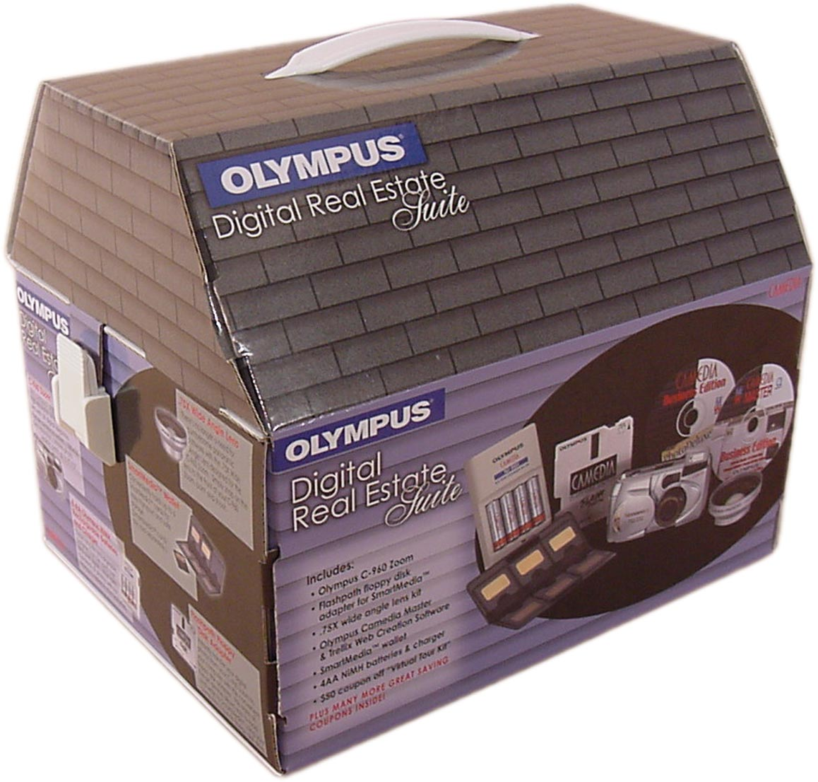 olympus house dvd packaging