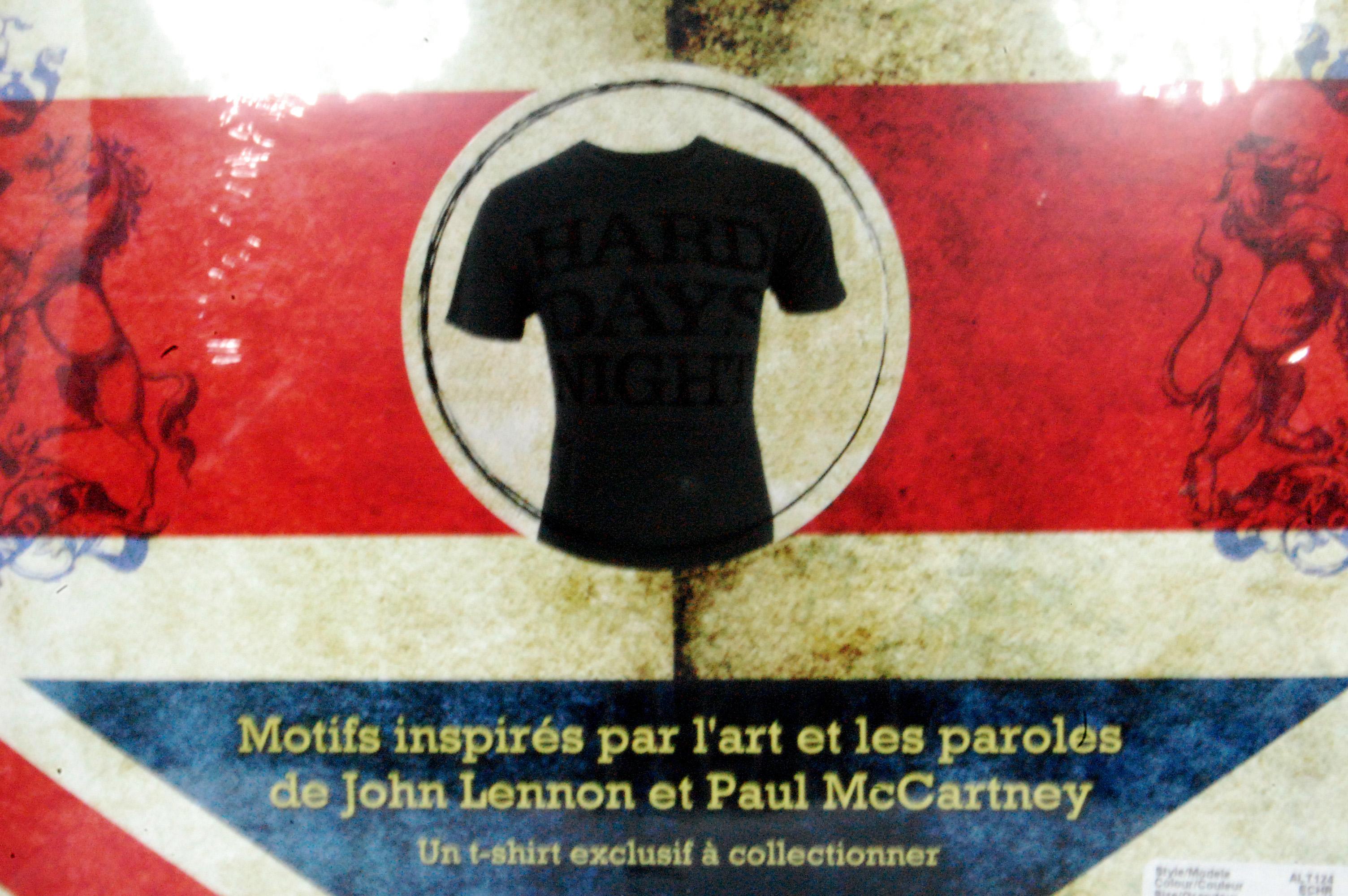 beatles unified t-shirt case