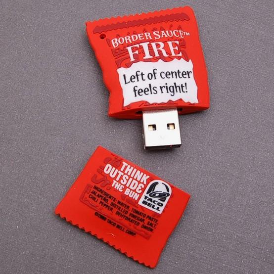 USB drive food