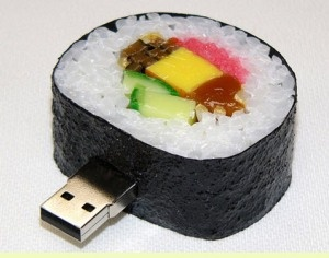 japanese food usb drive