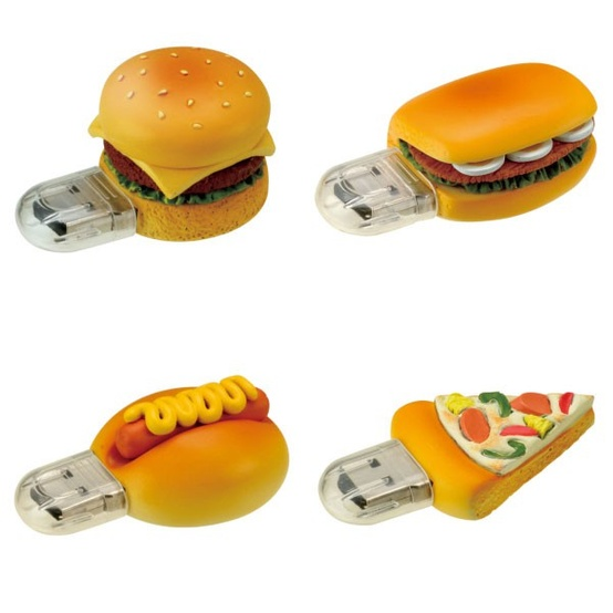 hamburger flash drive