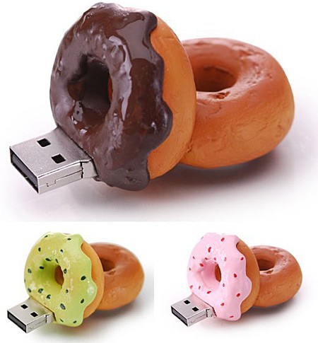 donut flash drive