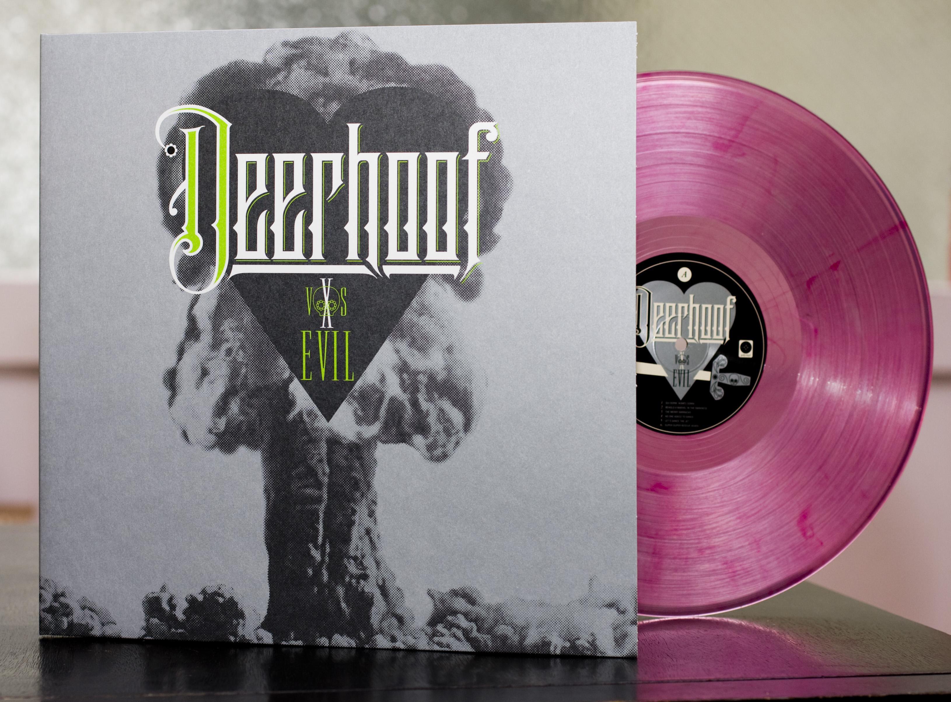vinyl record creative Deerhoof vs. Evil