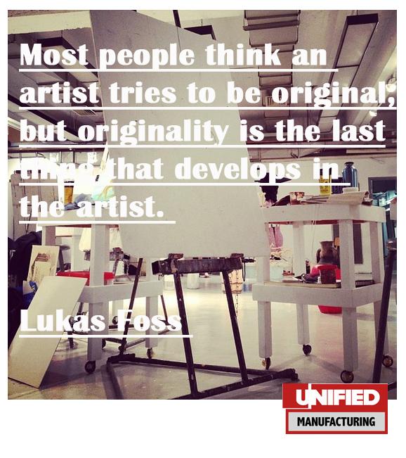 music advice, musician tips, filmmaker tips, artist tips, Strive for Authenticity, not Originality.