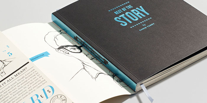 CD packaging, CD Packaging of the Week: Rest of the Story – Chris Tarry