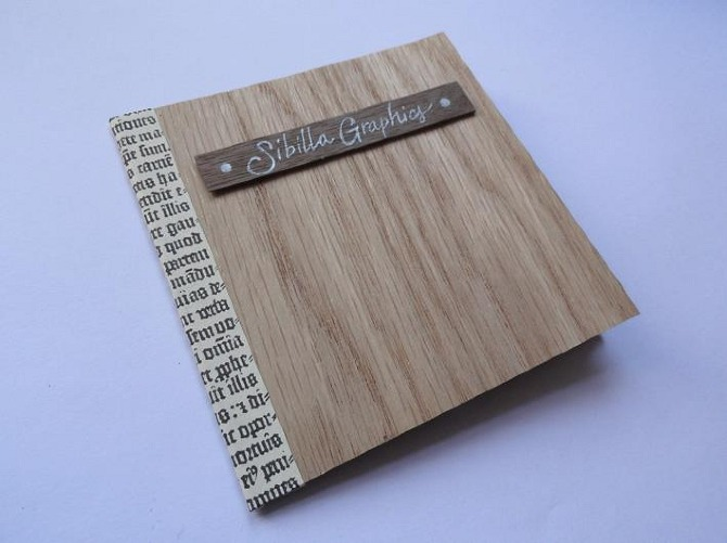 paper wood cd packaging