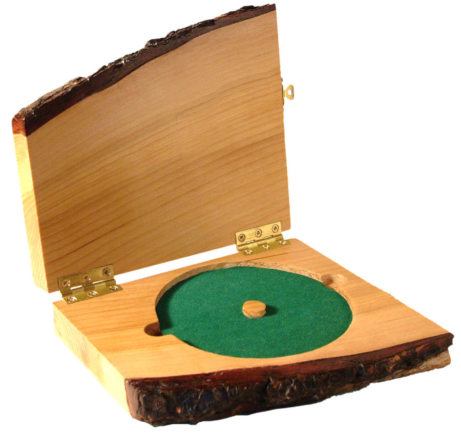 Wooden CD case