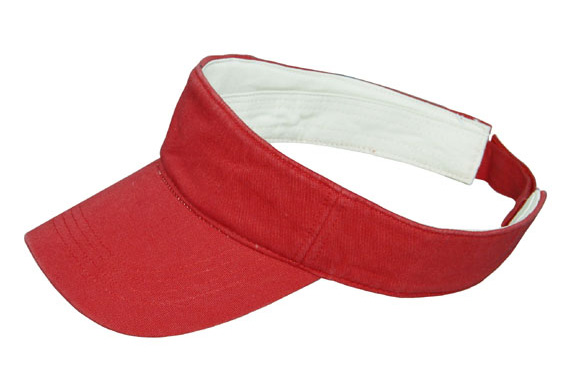 custom promotional visor cap