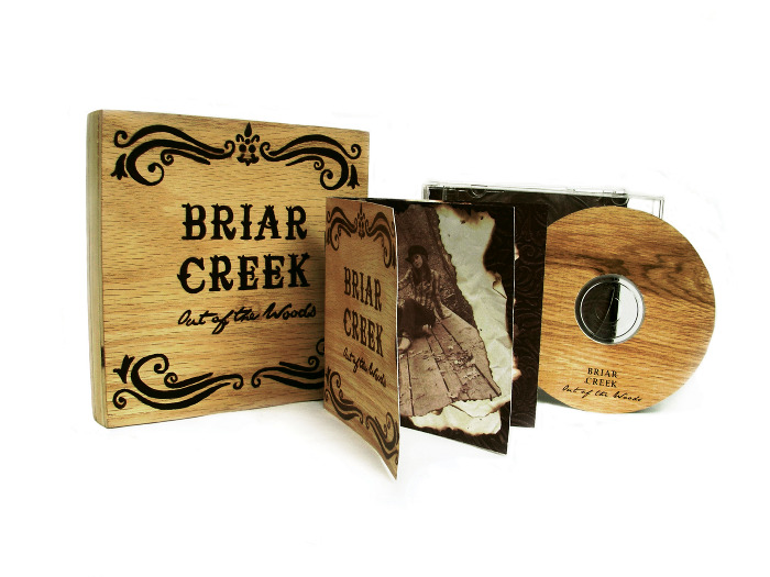 CD package wood Briar Creek