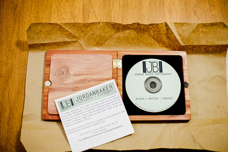 cd wooden case inside
