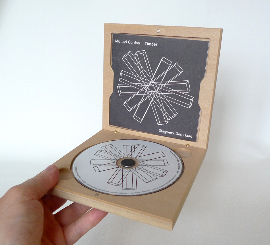 timber wooden cd packaging