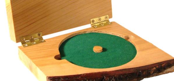 wooden cd cases