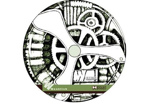 CD Disc Art design