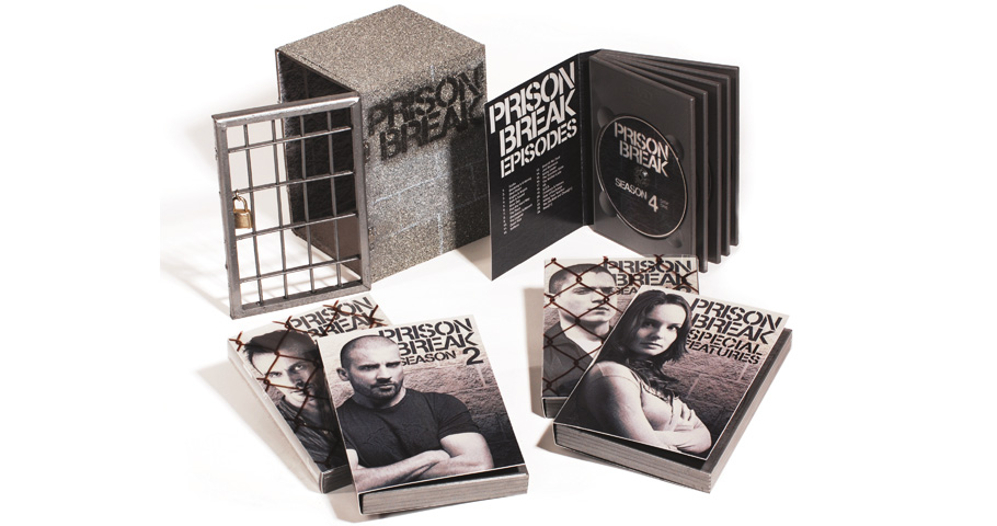 Prison Break DVD Packaging