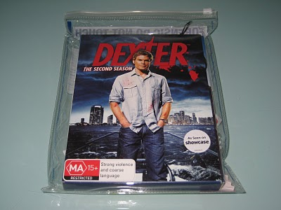 DVD packaging dexter series