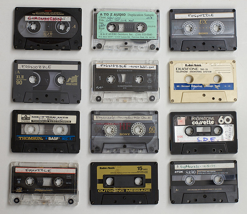 cassette tape music marketing