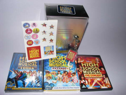 High School Musical DVD case Limited edition