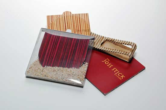 joss stick dvd package