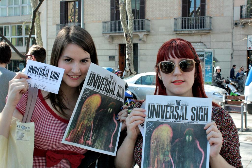 radiohead publicity newspaper