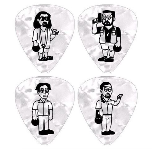 custom guitar pick merch