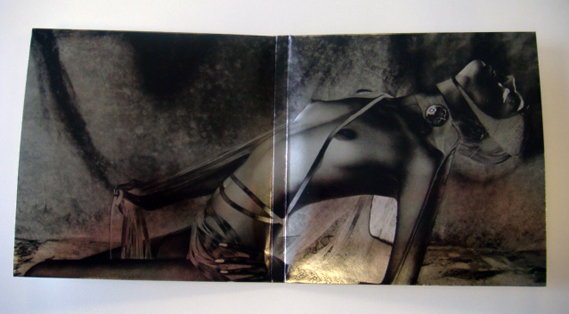 CD sleeve gatefold Unkle metallic