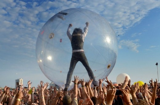 Flaming Lips gimmicks