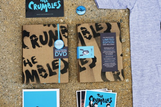 crumbles film promotional DVD