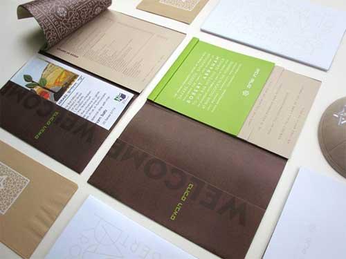 brand identity promotional kit
