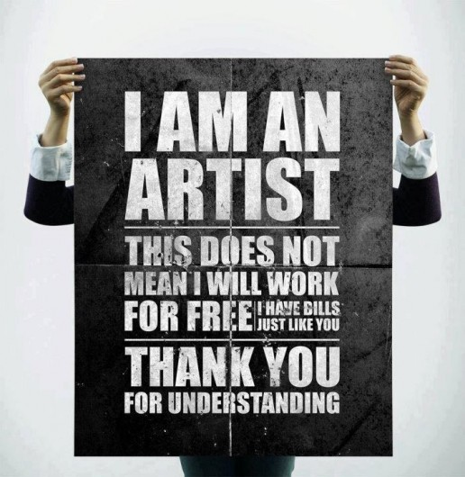 artist quote work for free