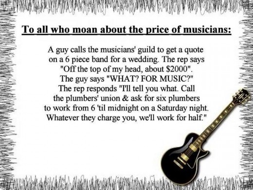 joke price of musicians