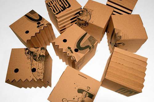 creative cardboard packaging