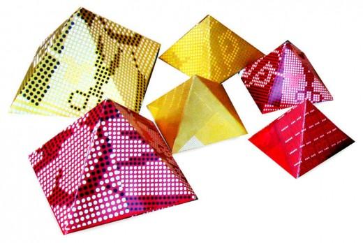 pyramid cardboard packaging