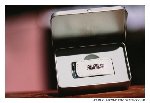 flash drive wedding