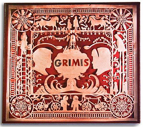 Grimis cutout paper design