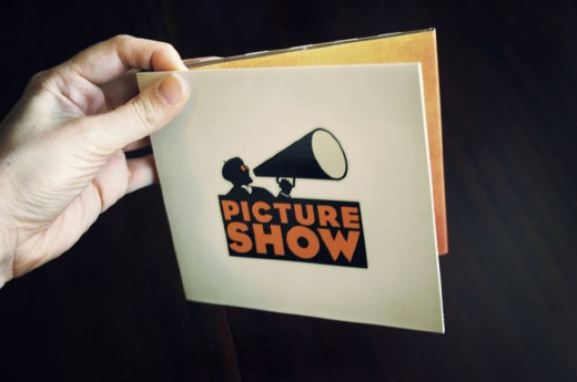DVD Demo Reel picture show digipak