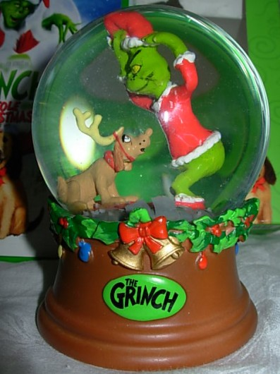 The Grinch Snow Globe collector